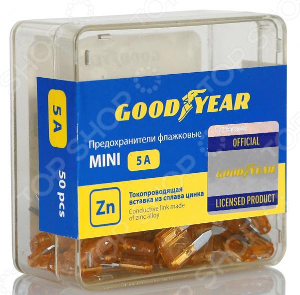 Набор флажковых предохранителей Goodyear «Мини»