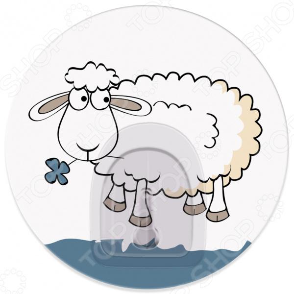 Крючок Tatkraft Funny Sheep Bella крючок двойной tatkraft mega lock на вакуумном шурупе