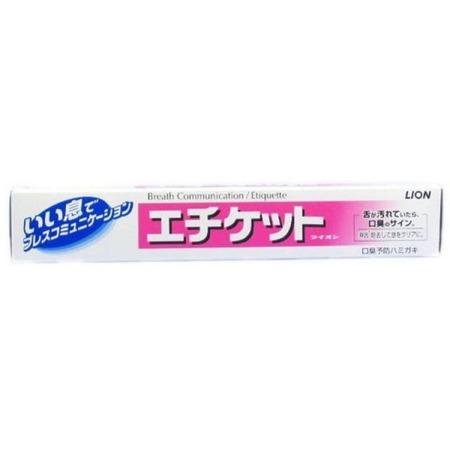 Купить Зубная паста Lion Etiquette для профилактики неприятного запаха