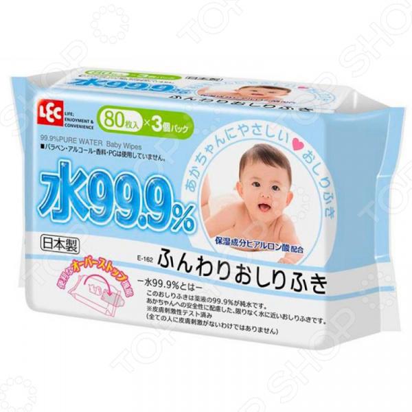 Салфетки влажные детские Iplus 99,9% воды для рук и лица