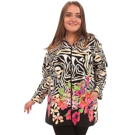 Купить Куртка Лауме-Лайн «Вилен». Цвет: черный, бежевый