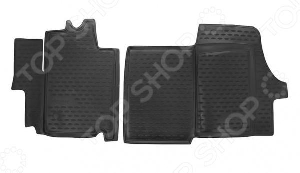 Комплект ковриков в салон автомобиля Novline-Autofamily Fiat Grande Punto 5D 2012. Цвет: бежевый - фото 6