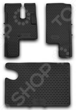 Комплект ковриков в салон автомобиля Novline-Autofamily МАЗ 6430 полуприцеп маз 975800 3010 2012 г в