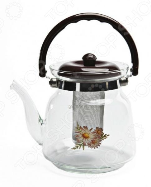 Чайник заварочный Bradex TK 0038 кухонная принадлежность bradex держатель чайных пакетиков и ложки кролик pink tk 0234
