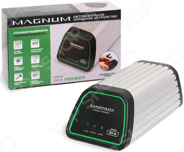 Устройство зарядное для АКБ НПП «Оборонприбор» MAGNUM SA-8 PIONEER autoexpert bc 65 green зарядное устройство для автомобильных акб