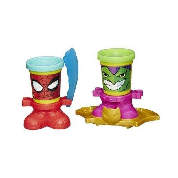 Набор пластилина Hasbro B0744 Play-Doh «Человек-Паук и ...