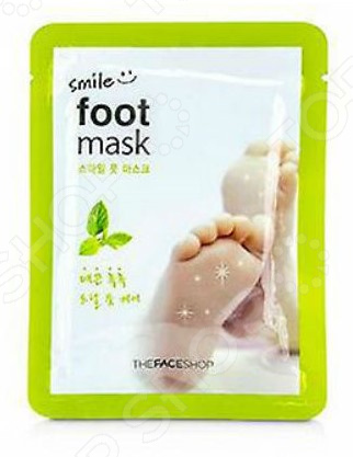 Маска для ног THE FACE SHOP Smile Foot vilenta маска носочки для ног silky foot отшелушивающая 40 мл