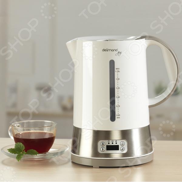 Чайник с цифровым дисплеем Delimano «Услада»