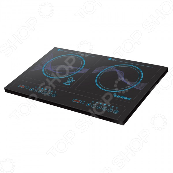 Плита настольная индукционная Endever SkyLine IP-34 электрическая плита endever ip 28 закаленное стекло индукционная черный [80033]