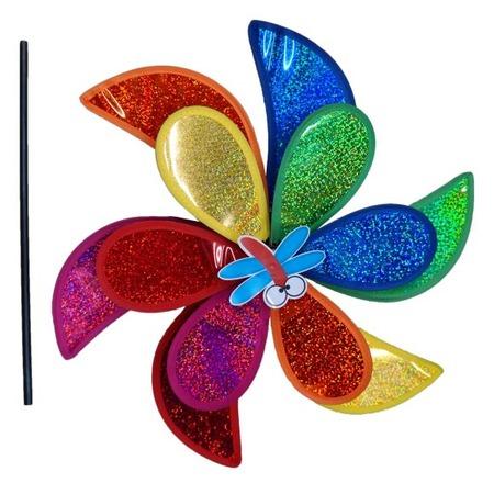 Купить Игрушка-вертушка Shantou Gepai голографическая «Мельница»