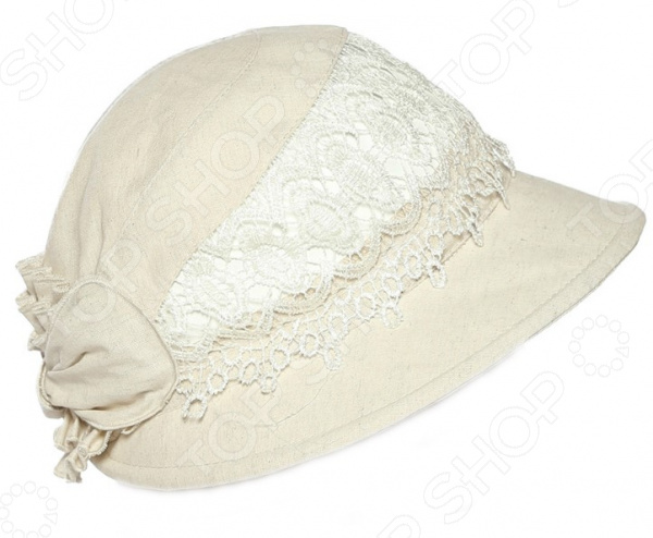 Шляпа «Модница»  Легко складывается до компактных размеров, а благодаря ободу...