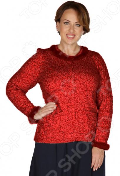 Жакет VAY «Антея». Цвет: бордовый vay жакет