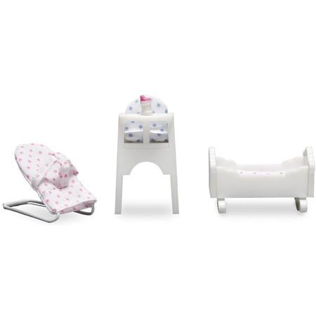 Купить Набор мебели для куклы Lundby «Детская для малыша»