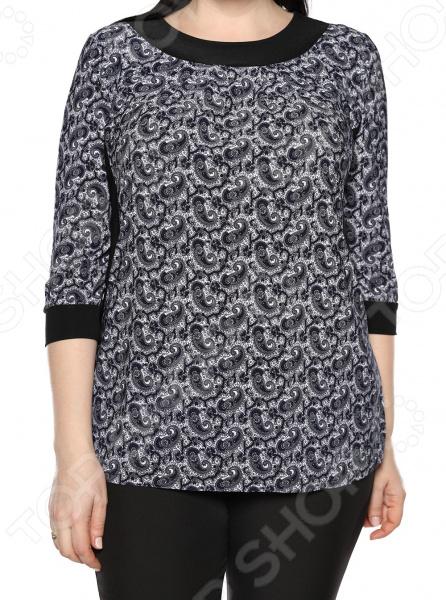 Одежда Jenks «Симпатичная». Цвет: серый блуза jenks счастливое настроение цвет фиолетовый
