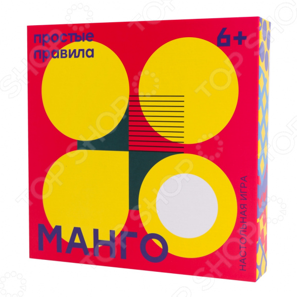 Игра настольная Простые правила «Манго» как клетки в игре бомбочки