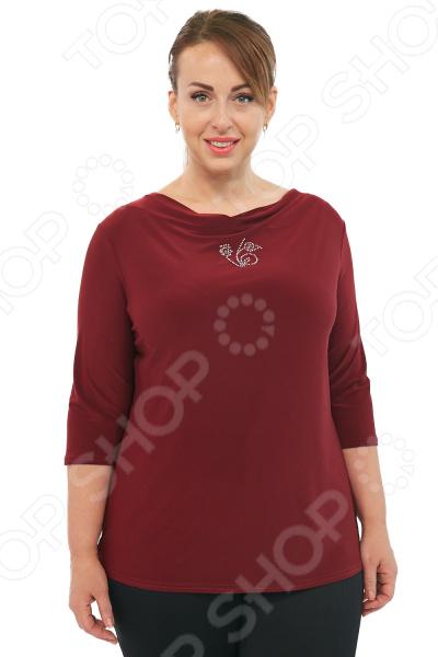 Туника Лауме-Лайн «Виолетта». Цвет: бордовый блуза лауме лайн перелетная птица цвет бордовый