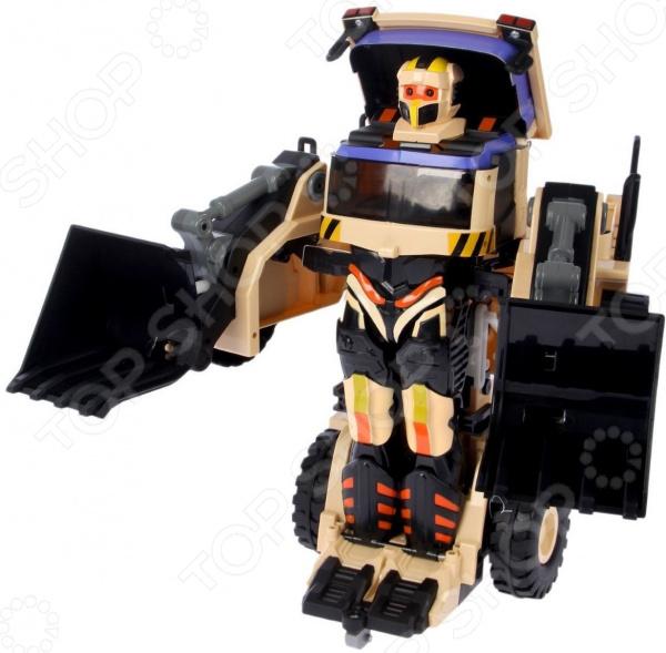 Робот-трансформер на радиоуправлении 1 Toy «Экскаватор»