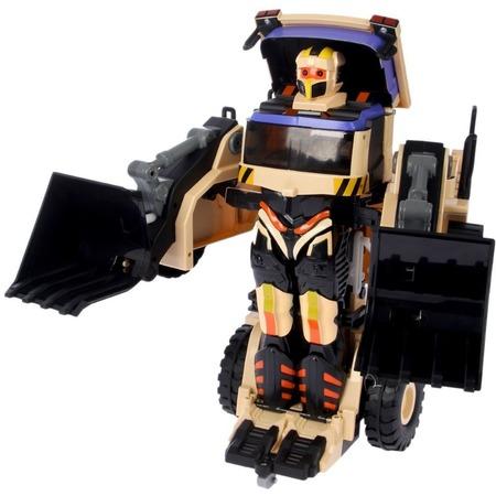 Купить Робот-трансформер на радиоуправлении 1 Toy «Экскаватор»