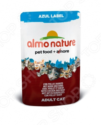 almo nature Azul Label Adult with Chicken and Beef 54283