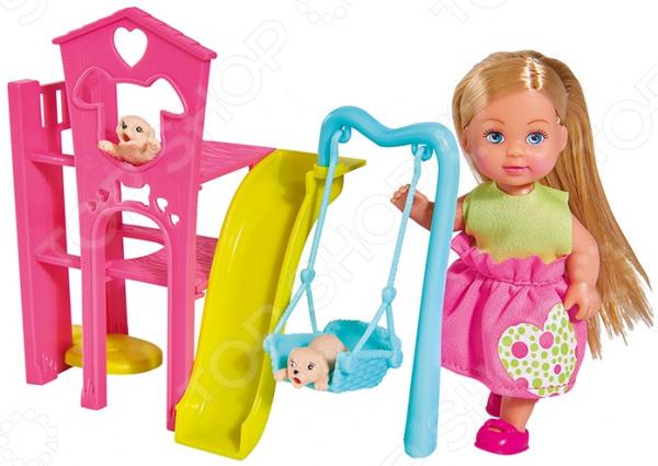 Набор игровой с куклой Simba «Еви с собачками» цена