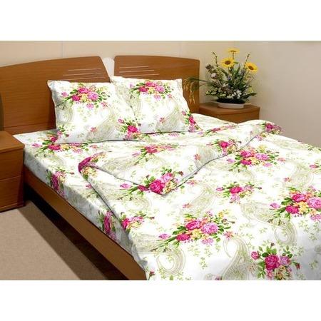 Купить Комплект постельного белья Fiorelly «Французские букетики» 3137-1. 1,5-спальный