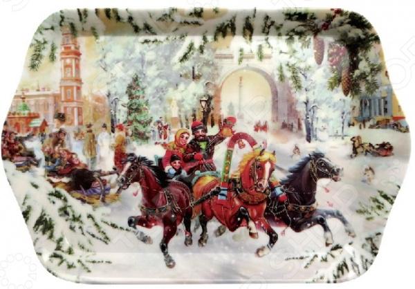 Поднос сервировочный Gift'n'home «Русская Зима» Gift'n'home - артикул: 1754324