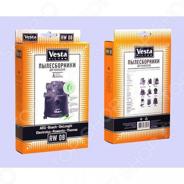 Мешки для пыли Vesta RW 08 для Rowenta