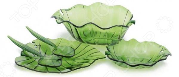 Набор салатников Louis Gourmet «Листок»
