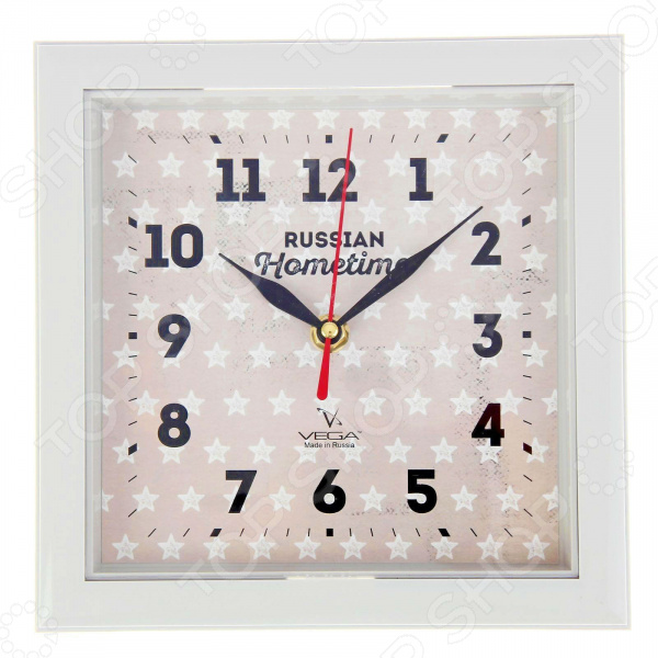 Часы настенные Вега П 3-5-129 «Звезды»