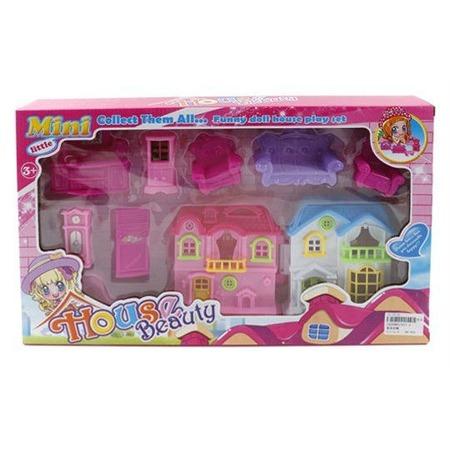 Купить Кукольный дом с аксессуарами Shantou Gepai 017-3