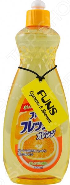 Жидкость для мытья посуды, овощей и фруктов FUNS FUNS средства для уборки funs спрей чистящий для дома на основе пищевой соды funs 400 мл