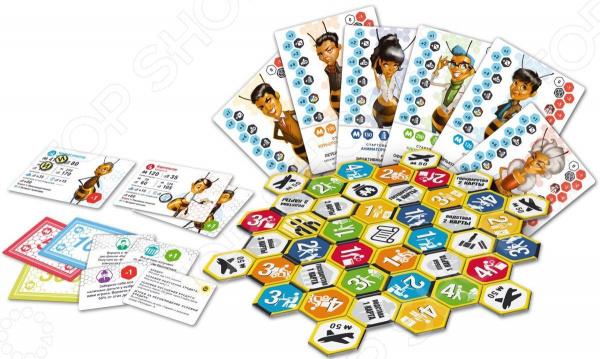 Настольная игра Сквирл «Биизнес. Пчелиное дело» игра мафия сквирл ut 573