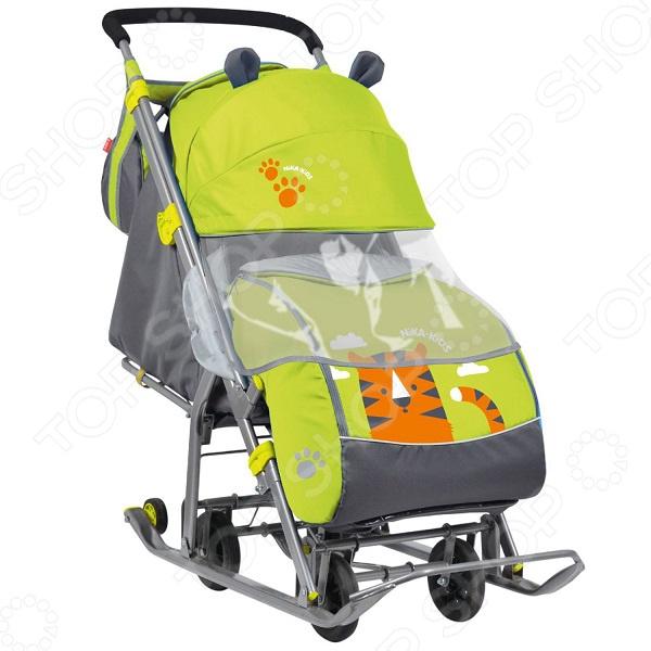 Санки-коляска Ника «Детям 7» (НД-7) ника санки коляска ника тимка премиум малиновый
