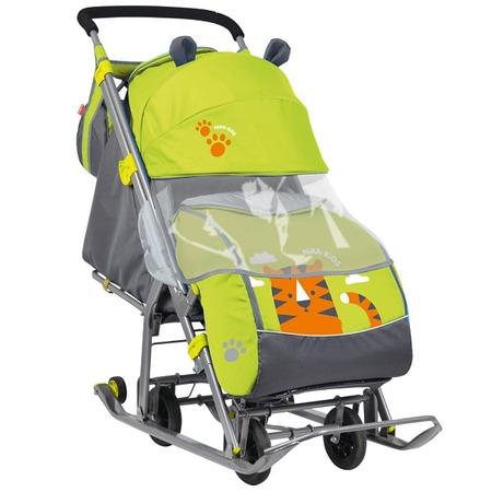 Купить Санки-коляска Ника «Детям 7» (НД-7)