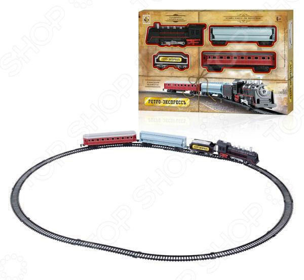 Набор железнодорожный 1 Toy «Ретро Экспресс» Т10148