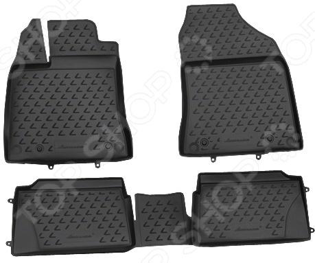 Комплект ковриков  салон автомобиля Novline-Autofamily Lexus CT 200h 2011
