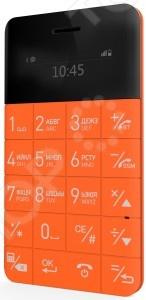 Мобильный телефон ультратонкий Elari CardPhone компактное устройство связи размером с кредитную карту. Вмещает microSIM-карту, оснащен Bluetooth-синхронизацией с любым смартфоном или смарт-часами: звонки, контакты, история вызовы и управление плеером. Имеет компактно размещенные кнопочки и большой цветной дисплей. Отлично ловит сигнал, а батарейка в режиме разговора держится около 3х часов в режиме ожидания около 3х дней . Elari CardPhone отлично подойдет как запасной телефон для непредвиденных ситуаций: сел аккумулятор у основного смартфона или смартфон вышел из строя. Особенности:  Телефонная книга на 500 контактов;  Возможность подключения беспроводной гарнитуры по Bluetooth;  Функция Antilost;  Виброзвонок.