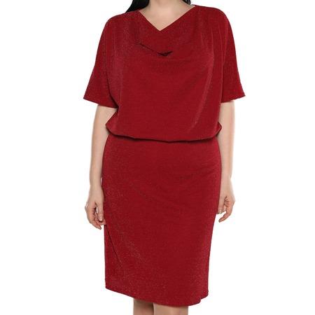 Купить Платье Blagof «Таинственное сияние». Цвет: бордовый