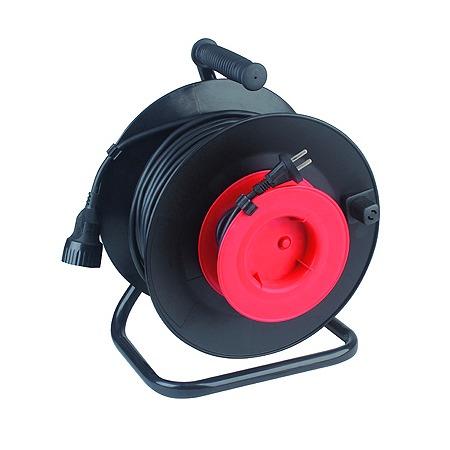 Купить Удлинитель силовой на катушке из пластика Эра RP-1