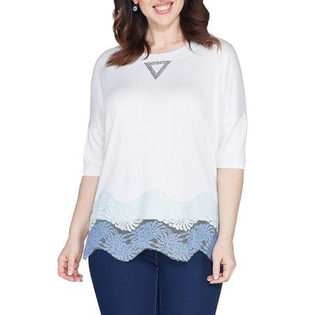 Купить Блуза Wisell «Волнующий образ». Цвет: белый