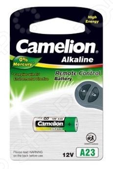Фото - Батарейка щелочная Camelion LR23A BL-1 Mercury Free батарейка camelion lr44 g13 bl 10 ag13 bp10 1 штука