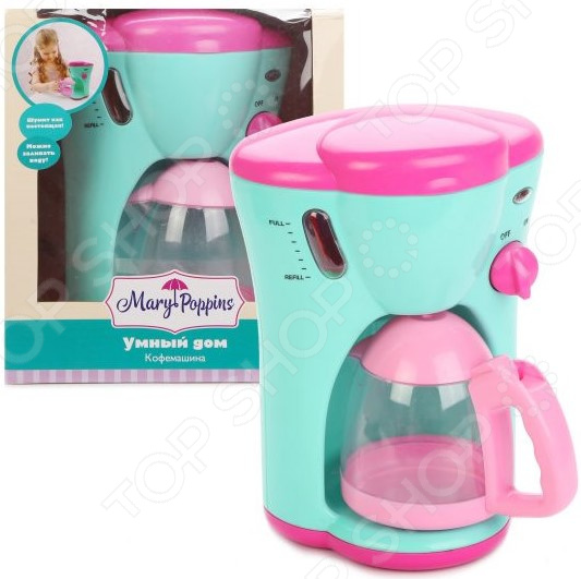 Кофеварка игрушечная Mary Poppins «Умный дом» игрушечная бытовая техника mary poppins умный дом
