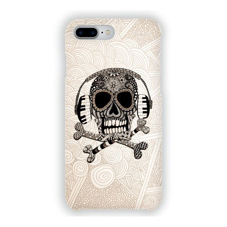Чехол для iPhone 7 Plus Mitya Veselkov «Зентангл: Череп»