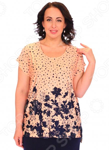Туника Pretty Woman «Капитолина». Цвет: персиковый