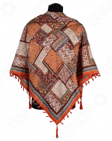 Платок Bona Ventura PL.XL-H.Pr.7 недорогой платок на шею для женщин