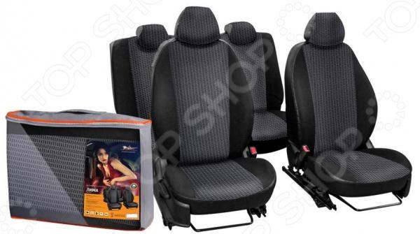Набор чехлов для сидений Airline Renault Sandero / StepWay ACCS-L-15 Набор чехлов для сидений Airline Renault Sandero / StepWay ACCS-L-15 /