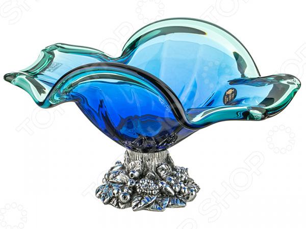 Чаша декоративная WHITE CRISTAL 647-585 millennio чаша декоративная kennith 12х34х35 см