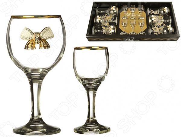 Набор подарочный для алкогольных напитков Glassan «Венеция» 802-510735