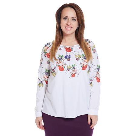 Купить Блуза Wisell «Свежесть цветов»