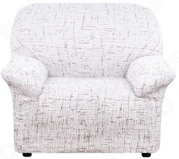 Натяжной чехол на кресло Еврочехол «Тела Страда»
